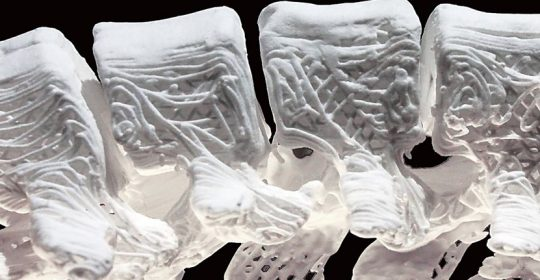 This 3D printed synthetic bone is elastic and can replace any damaged bone in the body